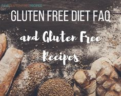 We do our best in this article to answer your Gluten Free Diet Frequently Asked Questions. Once you have all of your questions answered, keep reading to find some of our best gluten free recipes for every occasion. Wheat Free Recipes, Healthy Gluten Free Recipes, Gluten Free Diet, Homemade Chili Seasoning, Diet Tips, Free Food, Cooking Tips, Desserts, Foods