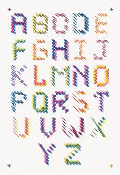 la cuisine du graphiste: Stereoscopic, une expérimentation typographique