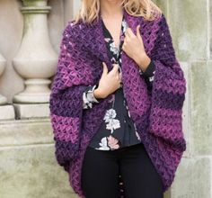 Crochet Cocoon Shrug Pattern - Lots Of Great Ideas   The WHOot