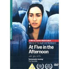 'At five in the afternoon comes death,' claims a haunting snatch of poetry in this equally haunting picture from Iranian director Samira Makhmalbaf. One of the first feature films to emerge from post-Taliban Afghanistan (making it a worthy companion piece to Siddiq Barmak's excellent Osama), this follows Noqreh (Agheleh Rezaie) as she struggles to redefine her role as a woman despite the protestations of her cranky, conservative father (Abdolgani Yousefrazi). Yet with death and misery…