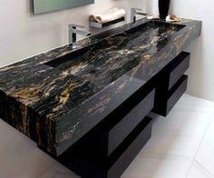 Zuhause Euro Granite Sink Design Connection, Inc. Granite Bathroom, Granite Sinks, Sink Countertop, Granite Countertops, Sink Design, Design Kitchen, Bathroom Design Luxury, Dream Bathrooms, Bathroom Pink