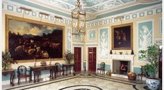Robert Adam Interiors | Christopher Wren, with some of Britain's finest Robert Adam interiors ...