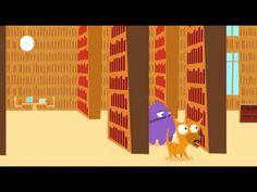 El Perro y el Gato: Biblioteca videos