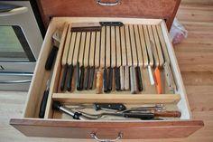 Knife Block Backwoods Designs LLC Winnebago MN