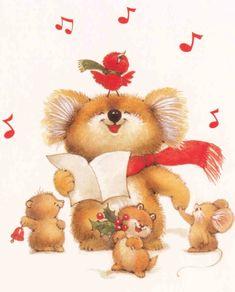 ruth morehead graphics | Ruth Morehead Navidad tiernas imágenes cute figuras