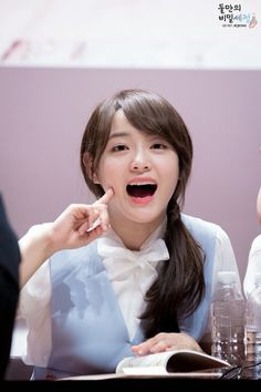 Yeah I know you're so cute overload Sejeong❤️😍