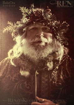 Holly King / Father Christmas - Photography by Renee Keith