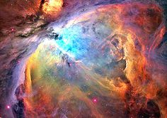 Part of the Orion nebula.