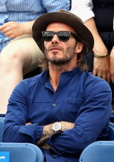 David Beckham Just Pulled Off The Trickiest (And Most Maligned) Accessory In Menswear