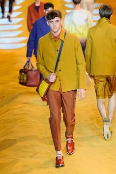 FASHION WEEK 2014 | Male Fashion Trends: Fendi Spring/Summer 2014 - Milán Fashion Week # ...