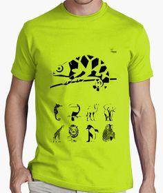 Camiseta Camaleón A Camiseta hombre clásica, calidad premium  18,90 € - ¡Envío gratis a partir de 3 artículos!