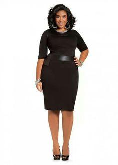 Black dress- #ThinkLikeABoss fashion