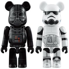 MEDICOM TOY Star Wars BE@RBRICK DARTH VADER & STOMTROOPER  Bearbrick from Japan #MEDICOMTOY