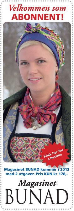Norwegian traditional clothing | Magasinet BUNAD nr. 3-2011 - Magasinet Bunad