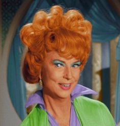 If this was MY mom for just one day, oh, the places we'd go and the things we'd do! (Agnes Moorehead as Endora from Bewitched) :)