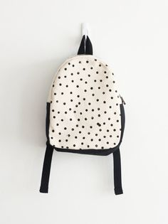 Toddler backpack Children's Backpack Polka dot by mulberryandjune