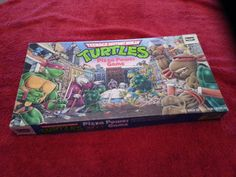 Vintage Collectible Teenage Mutant Ninja Turtles TMNT Pizza Power Game 1987