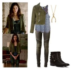 """Hayley Marshall 2x04 - the originals"" by shadyannon ❤ liked on Polyvore featuring moda, Balmain, Lucky Brand, Versus e Penny Loves Kenny"