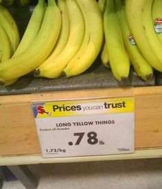 I can trust this like your prices.