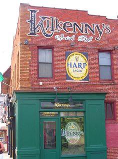 Kilkenny's Irish Pub on Cherry St. in Tulsa, Oklahoma...Excellent food!