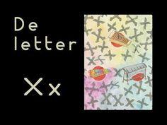 abcKRINGBOEKJE De letter X Letter School, Letter Of The Week, Learning The Alphabet, Videos, Preschool, Stage, Film, Cards, Movie