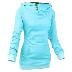 Warm Female Outerwear Women Sweatshirt Hoodies Hot Sale High Quality Solid Personality Hoody Fashion Men Sportwear 5 Colors
