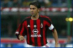 """Alessandro """"Billy"""" Costacurta, AC Milan, Italy"""