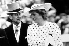Prins Philip en zijn, toen nog, schoondochter Diana in 1987.