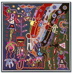 Los Espíritus Antepasados ascienden a la tierra ( Ancestor Spirits Ascend to Earth) by José Benítez Sánchez