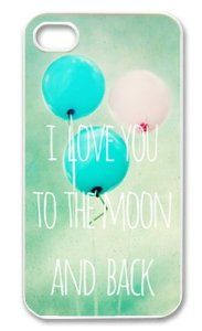 Please DO NOT REPIN!!  This is stolen artwork from me!!!   Amazon.com: I Love You to The Moon And Back Iphone 5 Slim-fit Case, Best Iphone Case at Luckyshopping Store: Cell Phones & Accessories