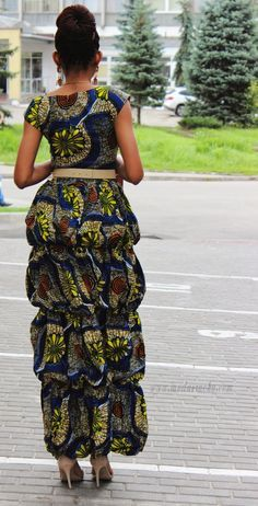 ankara styles, african prints dress style