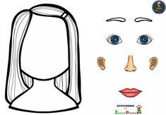 9 Ideas De La Cara 3años Partes De La Cara Partes De La Misa Actividades Escolares