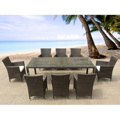 Found it at Wayfair.co.uk - Kintore 8 Seater Dining Set with Cushions