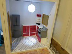 Barbie kitchen made on 3D printer