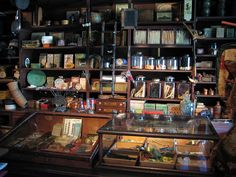 General Store & Apothecary Shop, Shelburne Museum located in Shelburne, Vermont
