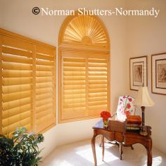 Arched Window Coverings Window Treatments for Arch Windows Ideas Budget Blinds Shutters, Arched Doors, Home, Arched Window Coverings, Budget Blinds, Arched Windows, Custom Window Coverings, Blinds, Wood Shutters