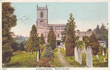 St Mary's Parish Church,Chipping Norton,Oxfordshire.1906 Colour Postcard