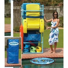 Home Backyard Clean Organize On Pinterest Pool Toys Pool Floats And Toy Storage