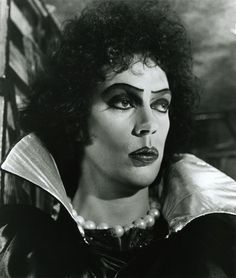 Tim Curry.......rocky horror picture show...love..love..love!