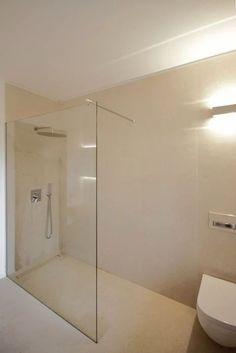 Projects: Modern bathroom by luigi bello architetto - Marian's World Bathroom Layout, Bathroom Colors, White Bathroom, Modern Bathroom, Small Bathroom, Flat Interior, Home Interior Design, Ideas Baños, Space Saving Bathroom