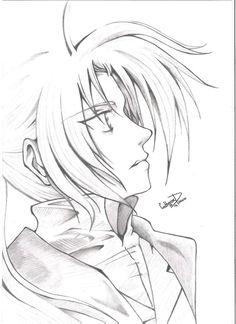 Edward Elric from Fullmetal Alchemist by TinTen97