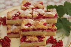 Mriežkový tvarohový koláč s ríbezľami - Recept pre každého kuchára, množstvo receptov pre pečenie a varenie. Recepty pre chutný život. Slovenské jedlá a medzinárodná kuchyňa
