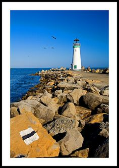 Lighthouse at Monterey, California