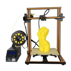 High Precision DIY Printer Kit Printing Size with Dual Z-Rod Lead Motor Filament Detector Printer Desk, 3d Printer Kit, Best 3d Printer, Printer Supplies, Copper Wood, Diy 3d, 3d Printing Service, Photography Camera, Tool Box