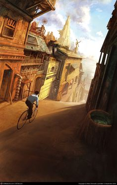 Got this at cgsociety.org. By Marc Simonetti.