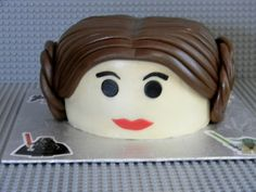 My best friends daughter insisted on having a star wars lego themed party.  So this was my attempt at lego leia.