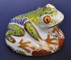 Royal Crown Derby Frog Hop http://www.bwthornton.co.uk/royal-crown-derby.php