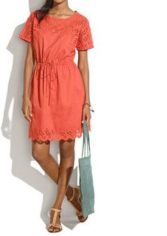 Eyelet Wildfield Dress from Madewell. Try it on from our app or buy now at www.cymplifi.com