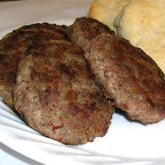 Breakfast Sausage - To Eat - Breakfast - Wurst Homemade Sausage Recipes, Homemade Breakfast Sausage, Breakfast Sausages, Venison Recipes, Homemade Recipe, Breakfast Time, Breakfast Recipes, Breakfast Specials, Chorizo