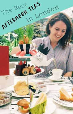 The best afternoon teas in London. From a classic tea at The Ritz to fabulously themed teas at trendy hotels, these are London's best afternoon teas.